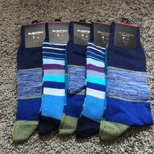 (5) Bugatchi men's socks